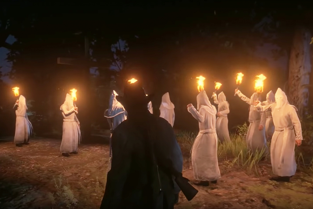 The KKK in Red Dead Redemption 2