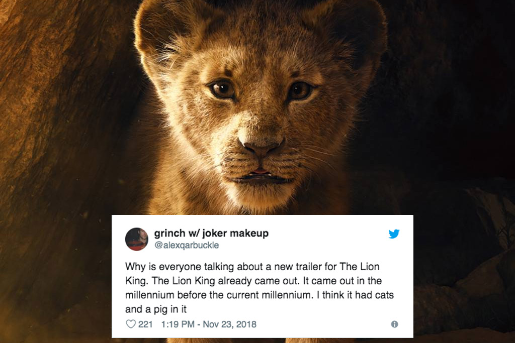 the lion king trailer reactions all the most hilarious memes