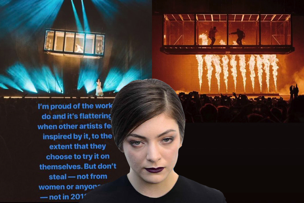 Image result for lorde stage