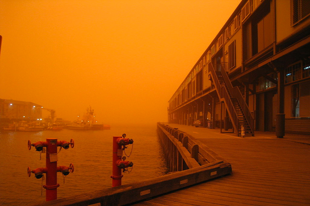 The Great Dust Storm of 2009.