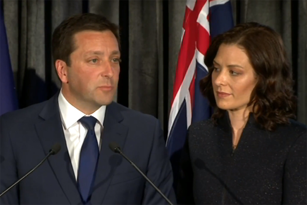 Victorian Election results, matthew guy