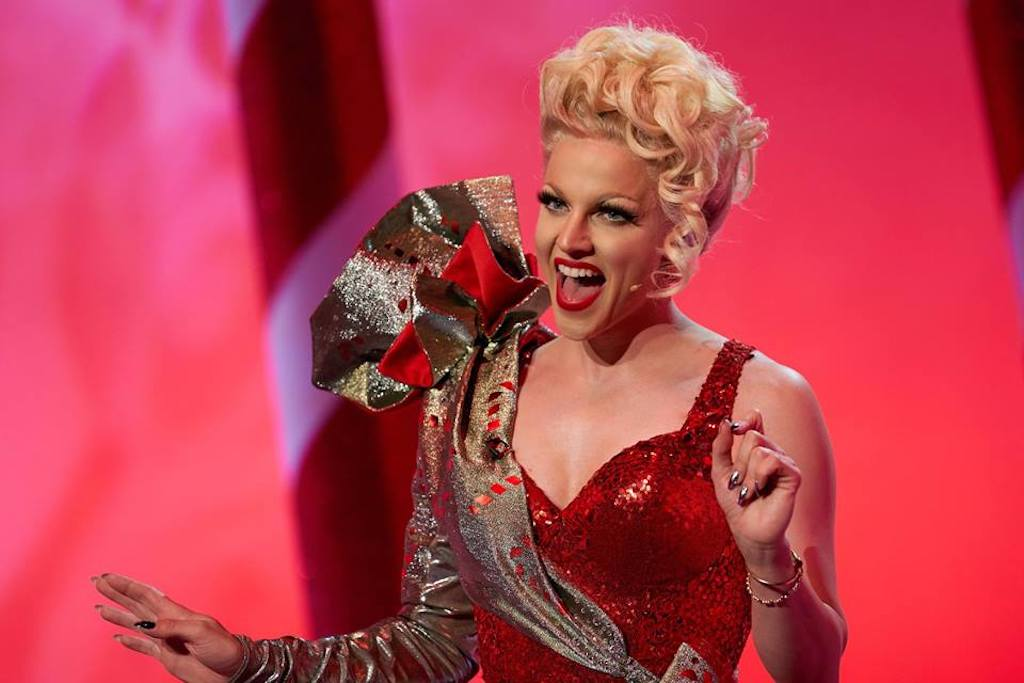 Courtney Act might represent Australia at Eurovision