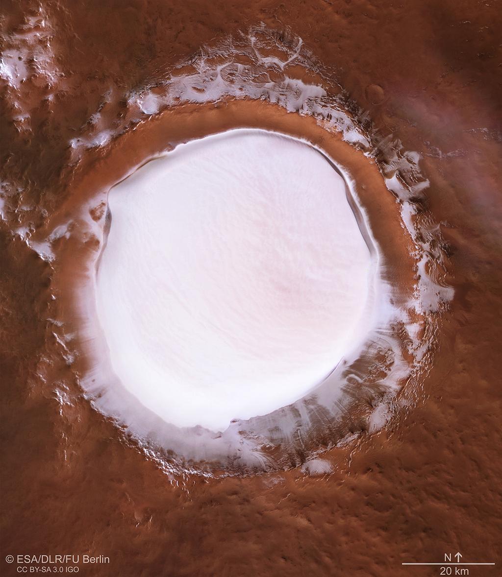 Mars Korolev Crater
