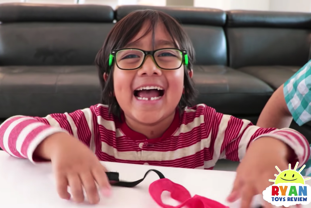 Highest-Paid YouTube Star Is 7 Years Old