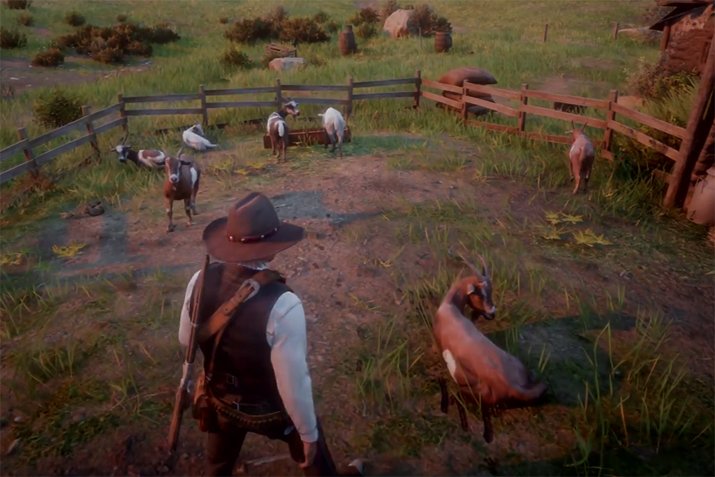 Red Dead Redemption 2s Goats Are Murderous Jerks