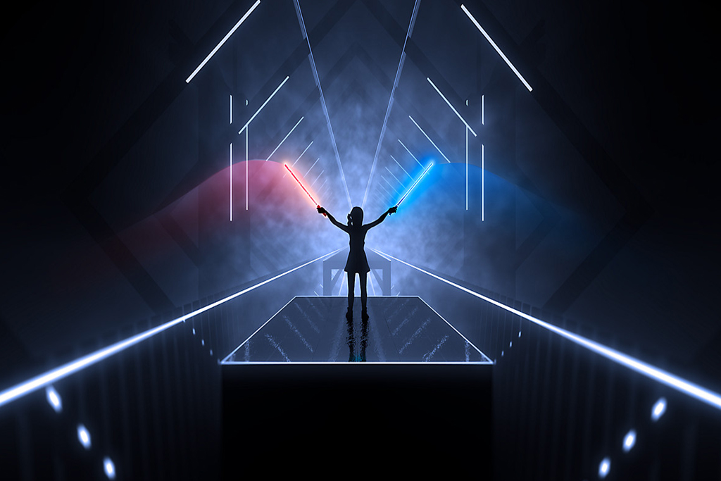 Video games Helping You Get Fit Beatsaber