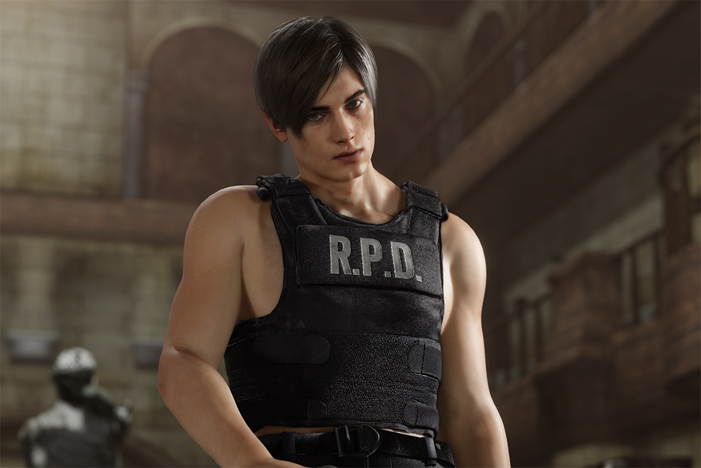 Resident Evil 2 S Leon Is Making People Very Thirsty