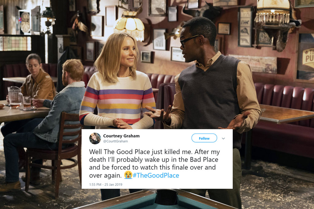 The Good Place's Season 3 Finale Has Fans In Tears