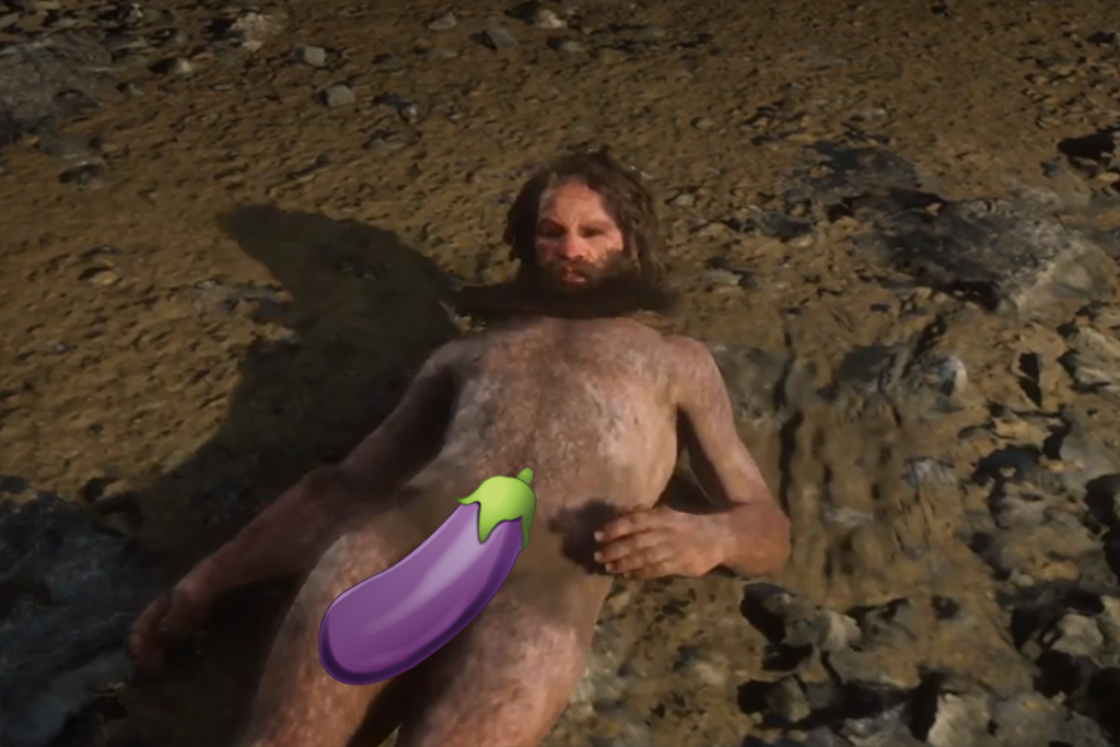 How To Find Red Dead Redemption 2's Naked Wolf Man