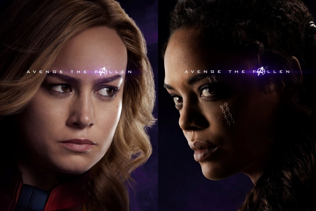 Captain Marvel Endgame Poster