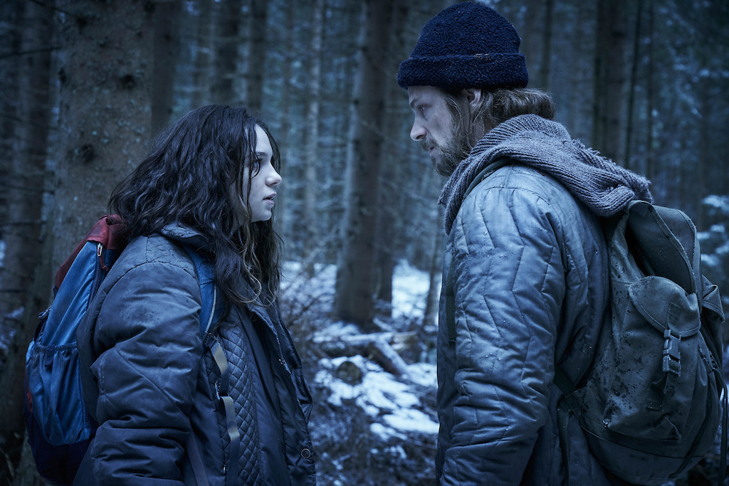 Esme Creed-Miles and Joel Kinnaman in the new Amazon Prime Video show 'Hanna'