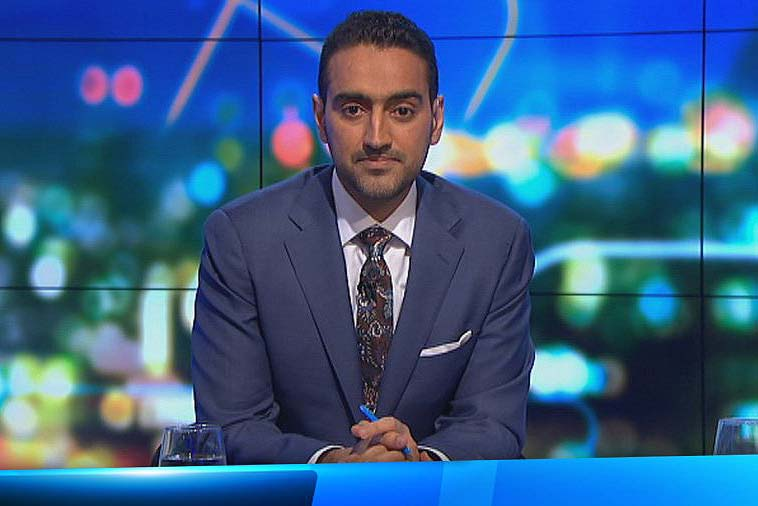 The Project host Waleed Aly