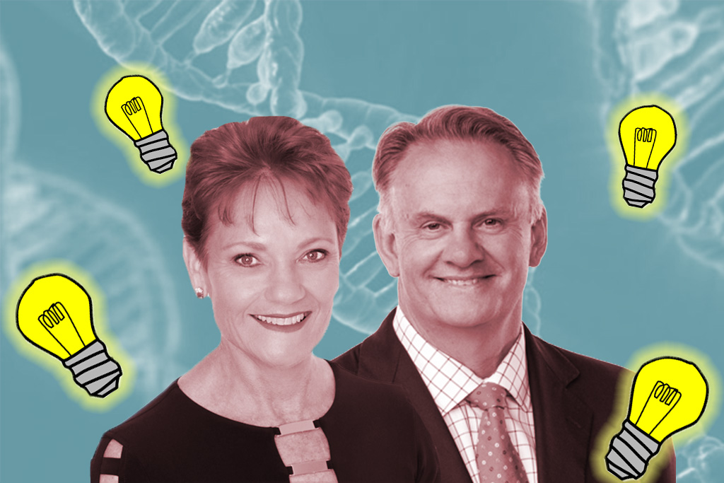 One Nation Mark Latham Pauline Hanson Aboriginal DNA