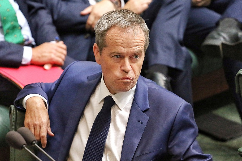 Bill Shorten and Labor have been hit with a misleading fake news story