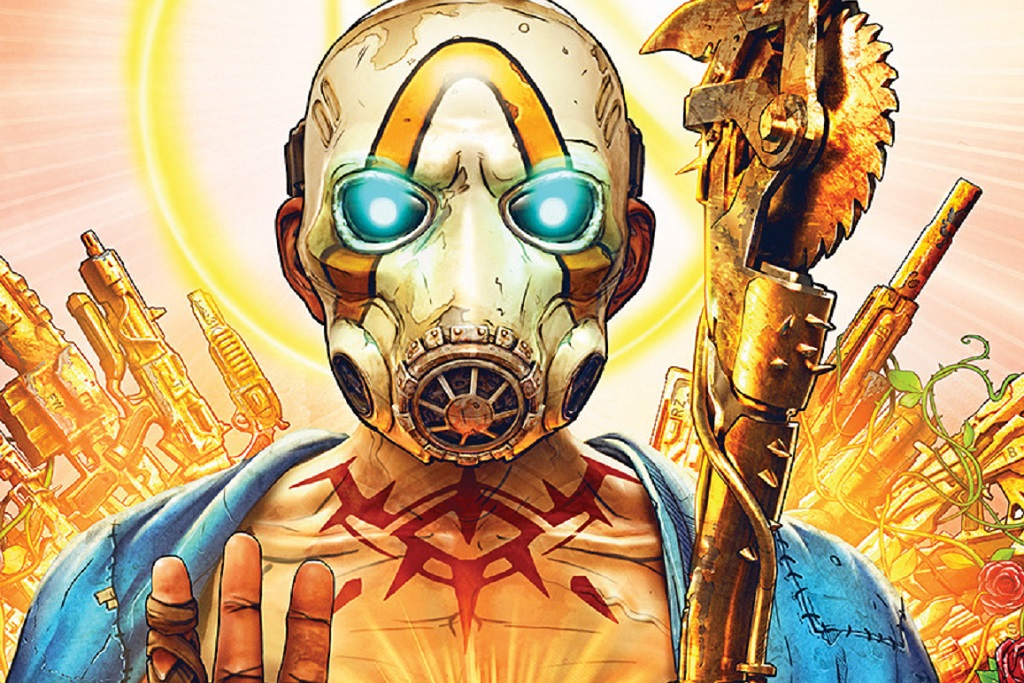 The cover of Borderlands 3