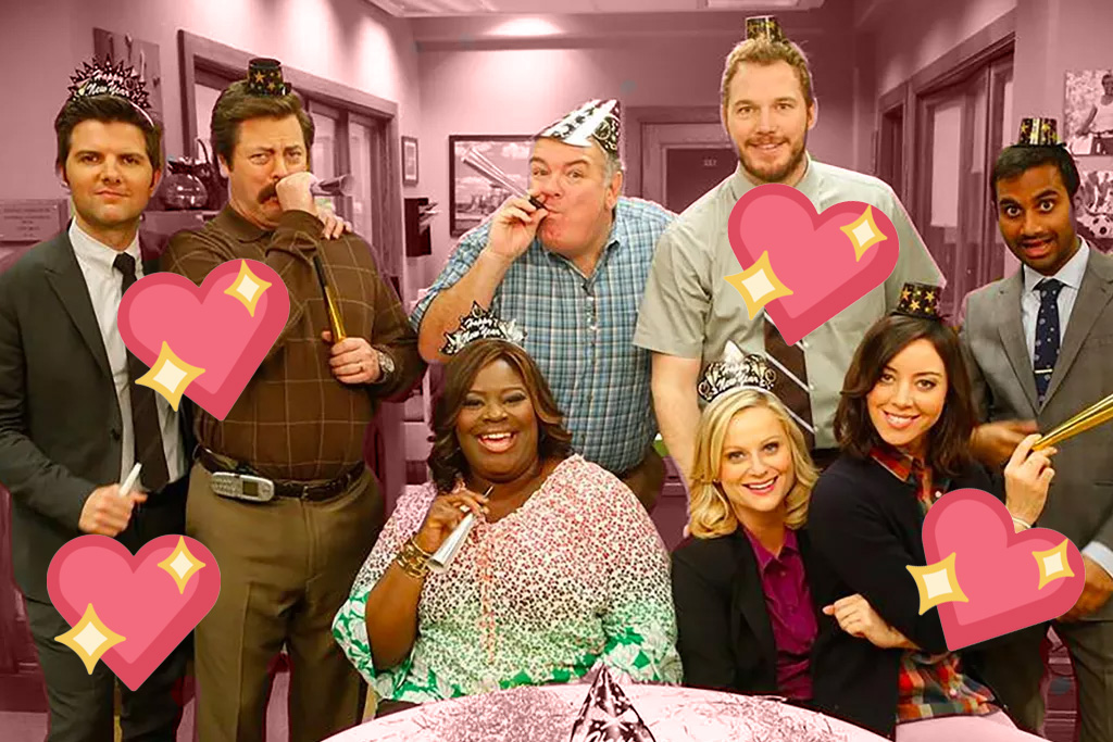 Parks and Recreation 10 year anniversary