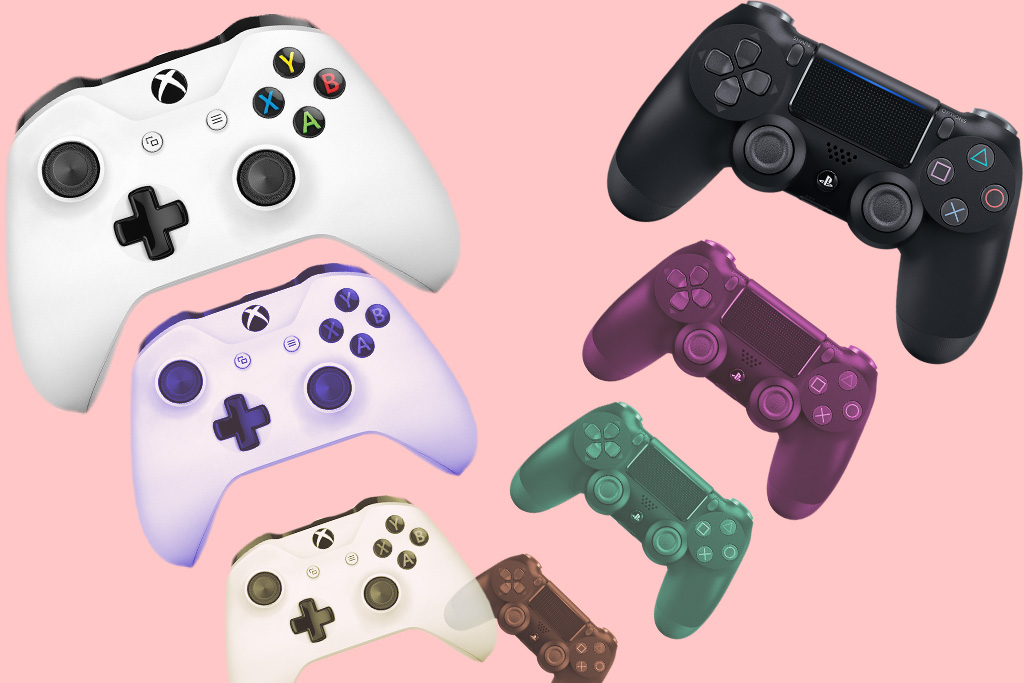PlayStation Xbox Consoles Controllers