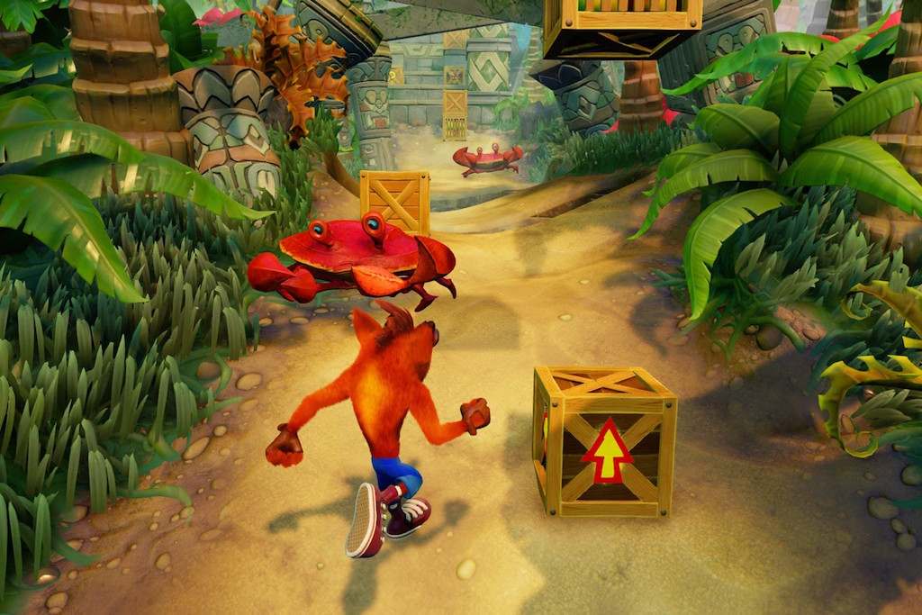 Crash Bandicoot Retro games