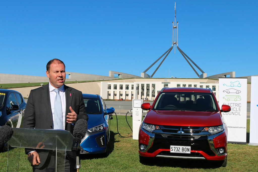 Josh Frydenberg electric cars