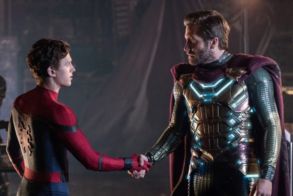 Tom Holland and Jake Gyllenhaal in the new trailer for Spider-Man: Far From Home