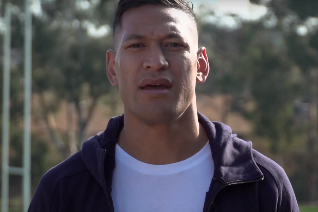 Israel Folau thanks supporters as donations for legal battle rise