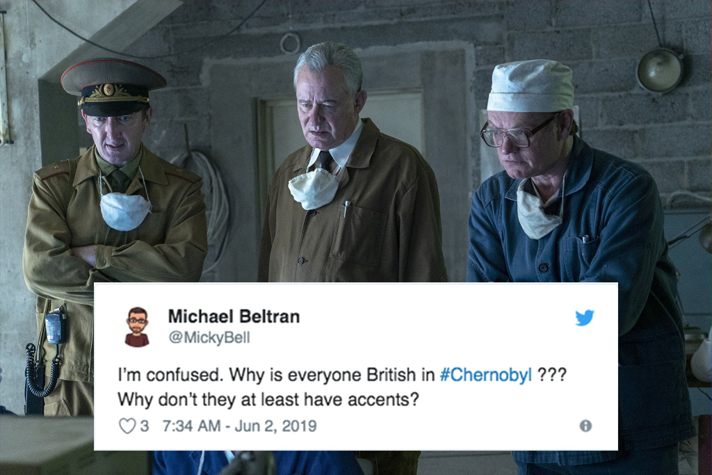 Chernobyl HBO bad accents