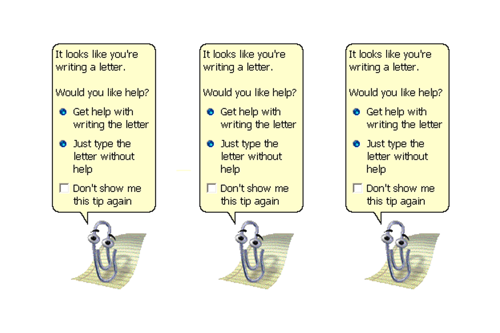 Microsoft Office Clippy Just Refuses To Die: A Weird History