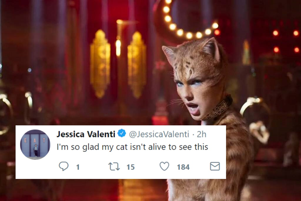 Watch the 'Cats' trailer, featuring Taylor Swift, Jennifer Hudson and Idris Elba