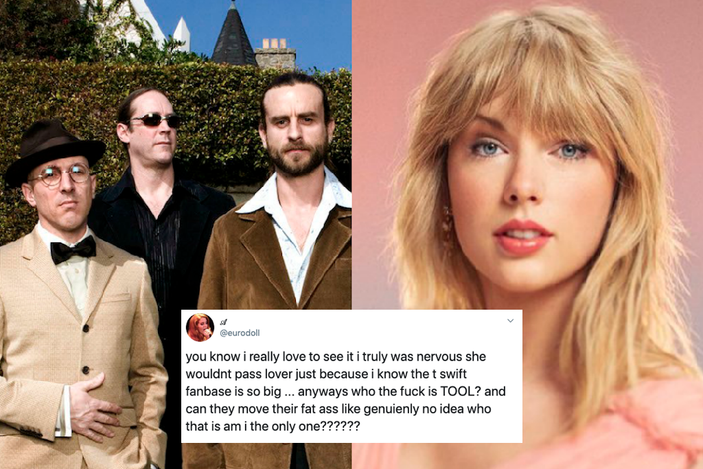 Taylor Swift Fans Are Freaking Out About This New Band Called Tool