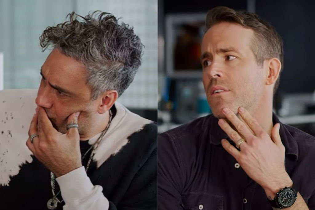 Ryan Reynolds & Taika Waititi