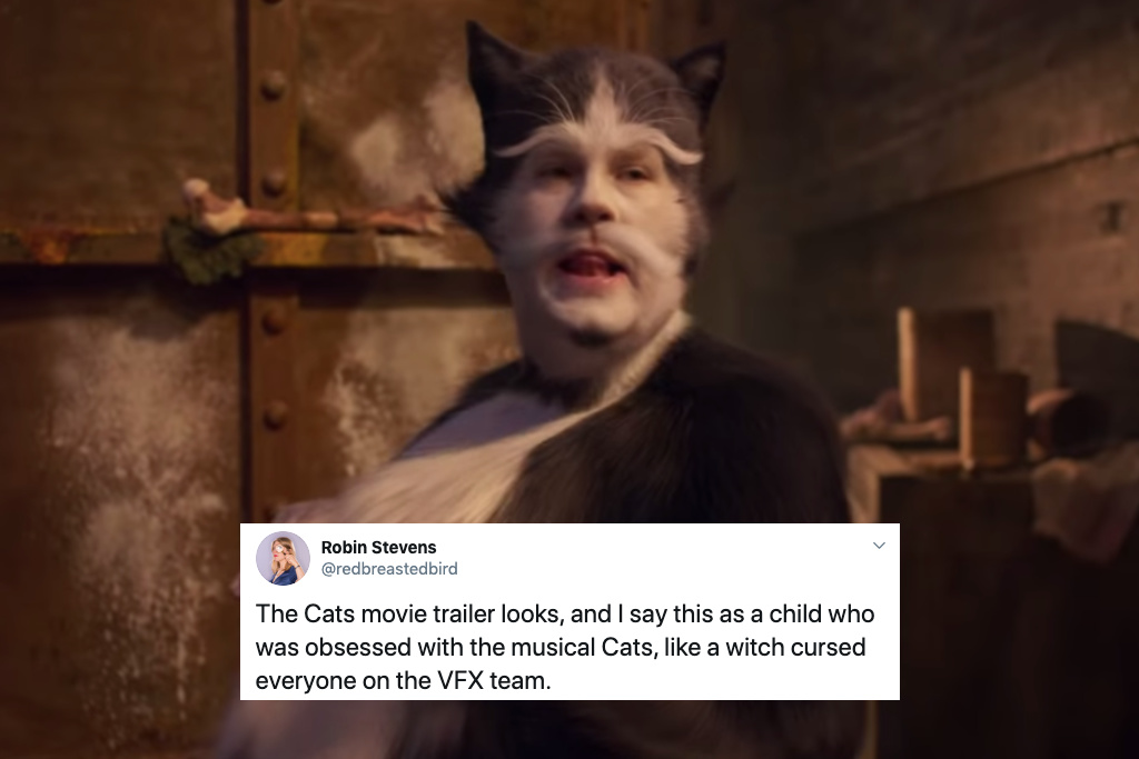 'Cats' Movie Trailer Teases a Bizarre Feline Show