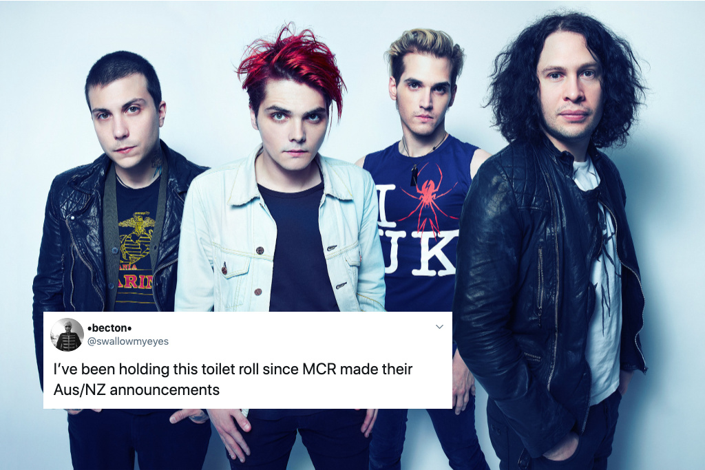 My Chemical Romance announces New Zealand show