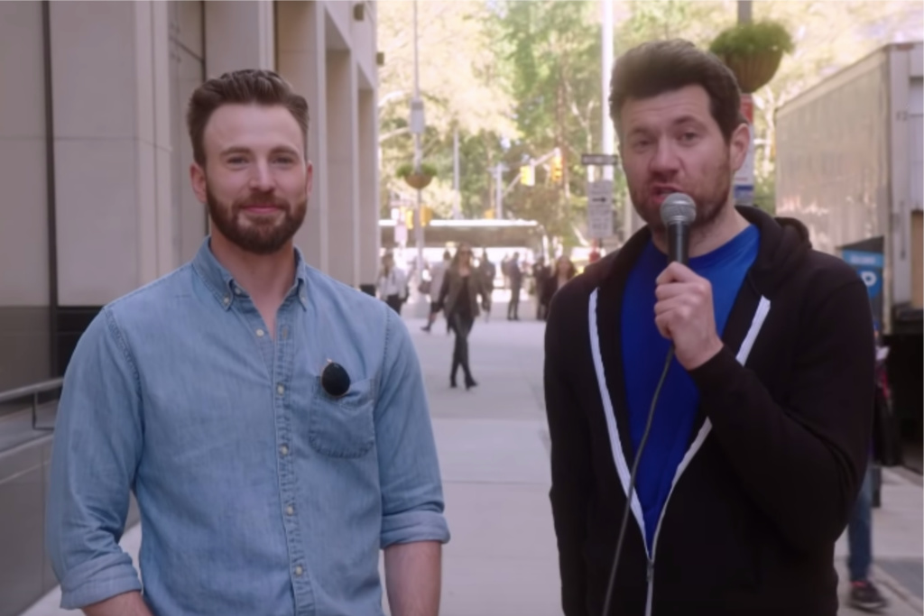 Chris Evans on Billy On The Street