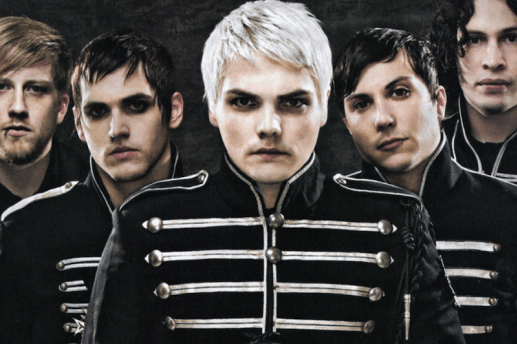 My Chemical Romance reunion happy photo