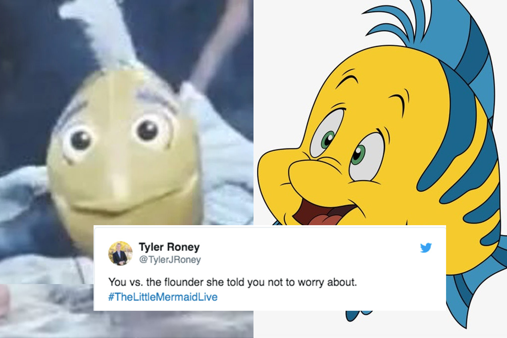 Flounder From The Little Mermaid Live Is All Everyone S Talking About