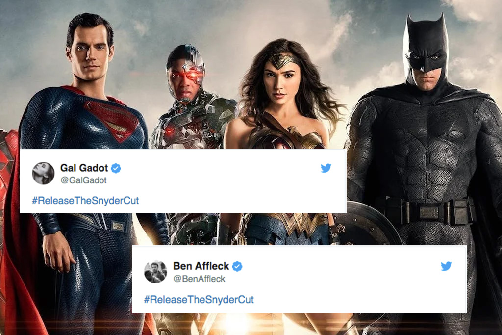 Ben Affleck, Gal Gadot Demand Snyder Cut of 'Justice League'