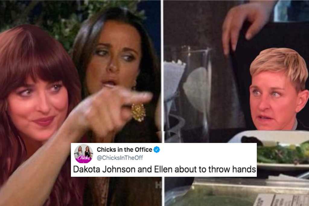Dakota Johnson Shut Down Ellen