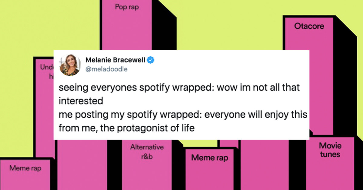 Spotify Wrapped People Sharing Their Results Has Become A Meme