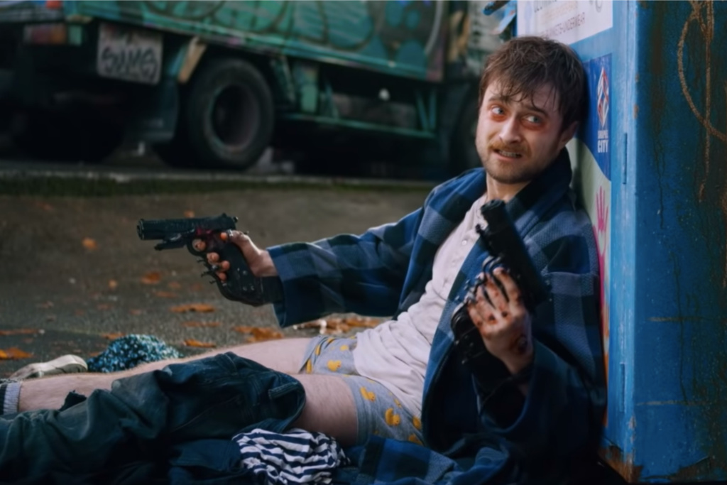 Trailer: Uber-Violent GUNS AKIMBO Blasts Into Theaters 2/28