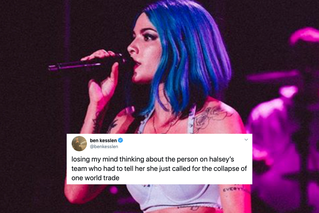 Halsey's Reaction To