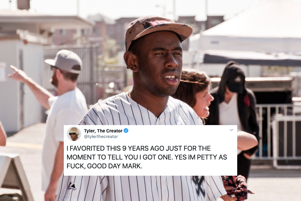 Tyler, The Creator hits back at Twitter random