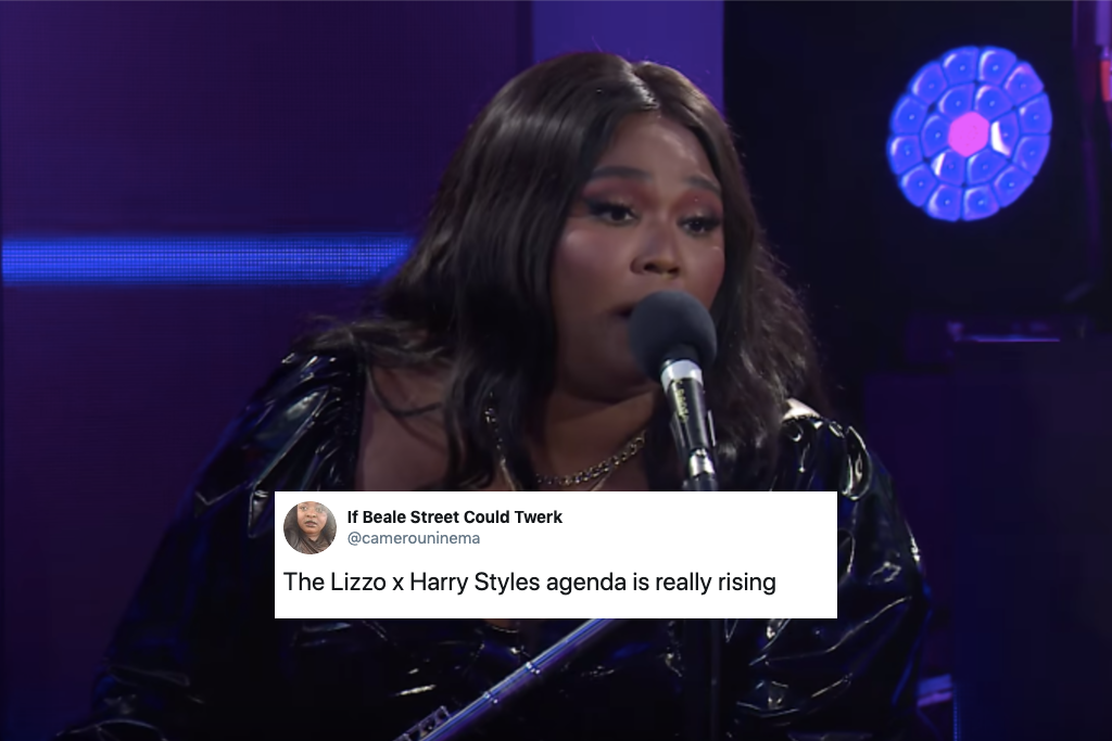 Lizzo Covers Harry Styles'