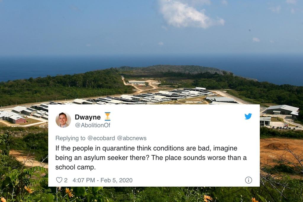 Evacuees On Christmas Island