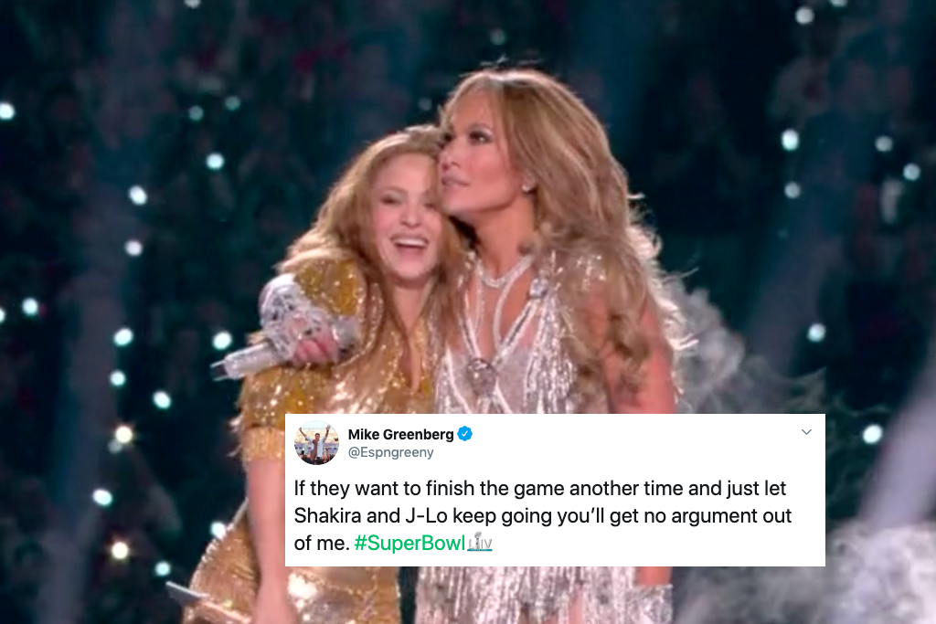 Shakira's tongue at Super Bowl halftime performance gets meme moment on Twitter