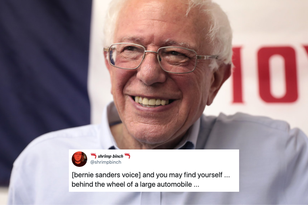 Bernie Sanders Introducing Musicians Has Become A Massive Meme