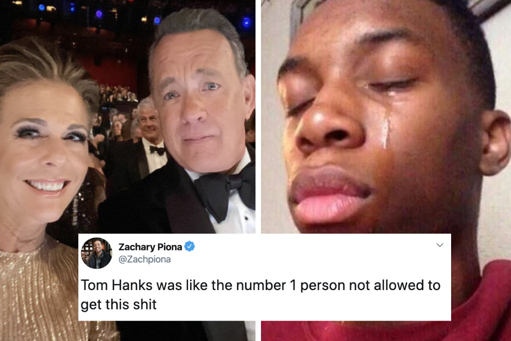 Tom Hanks Coronavirus All The Best Reactions To The First Celeb Case