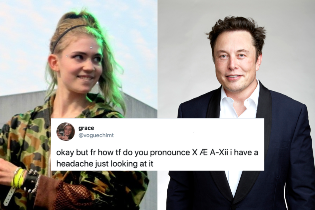 Grimes, Elon Musk tweak their infant's unusual name