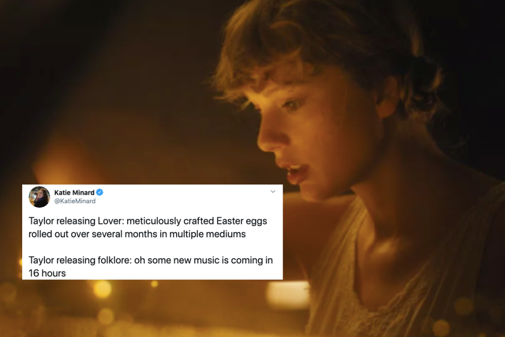 Taylor Swift And Folklore All The Best Memes And Reactions