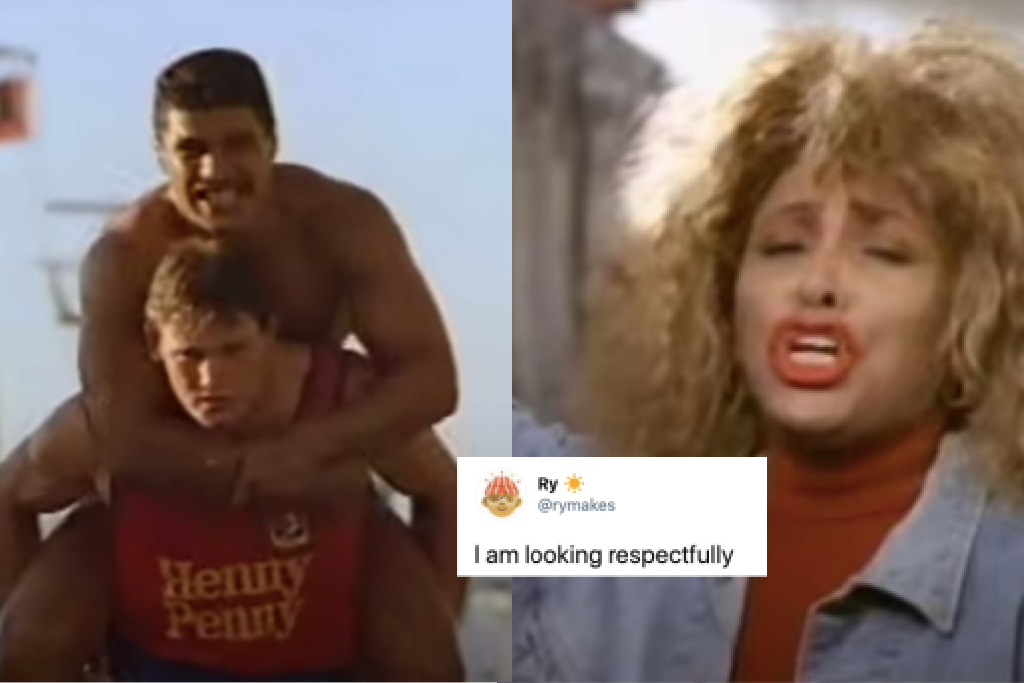 Tina Turner rugby league 1989 ad