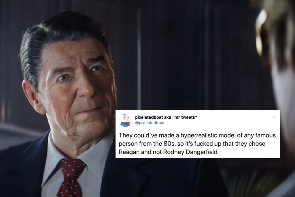Ronald Reagan All The Best Call Of Duty Black Ops Cold War Memes